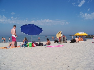 Summer at the Baltic coast  near Kiel