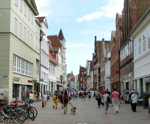 Lüneburg - Shopping on Saturday afternoon
