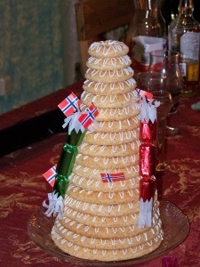 Traditional Norwegian Cake