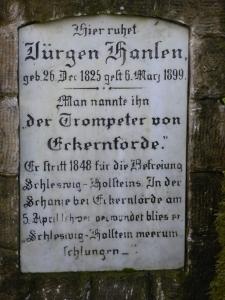 The trumpeter of Eckernförde