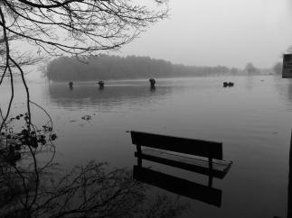 Late winter flooding